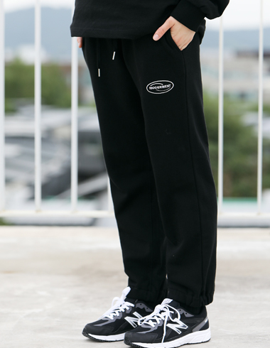 ATHLEISURE JOGGER PANTS(black)